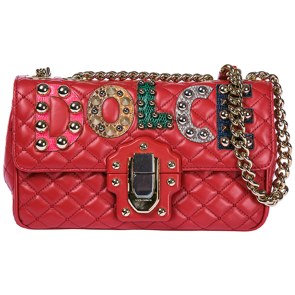 Dolce   Gabbana Lucia Quilted Shoulder Bag – Cettire 6e598a555878f