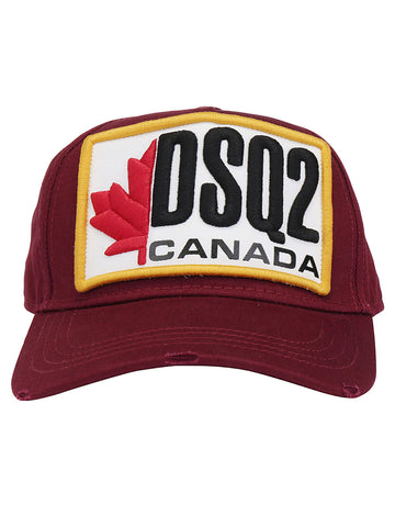 Dsquared2 Canada Logo Patch Baseball Cap