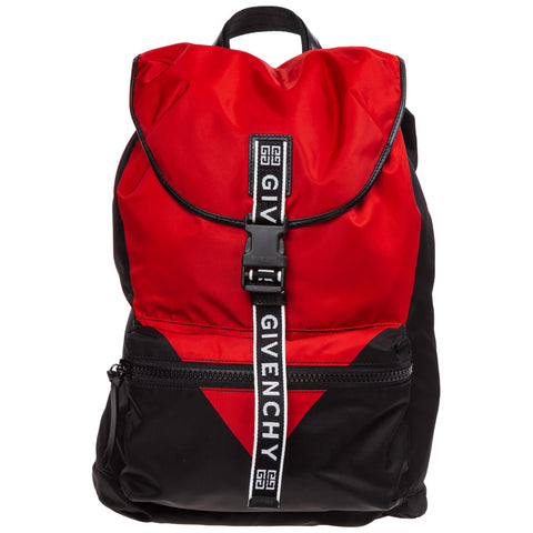Givenchy Two-Tone Logo Strap Backpack