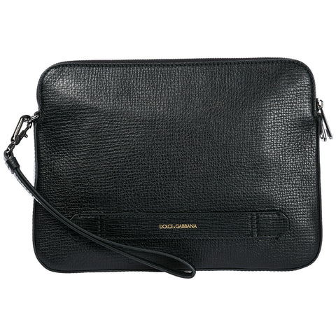 Dolce & Gabbana Double Zip Clutch Bag
