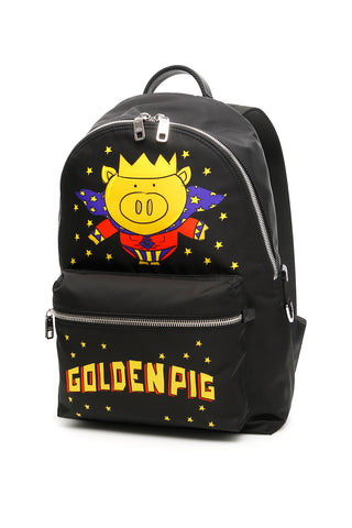 Dolce & Gabbana Golden Pig Backpack
