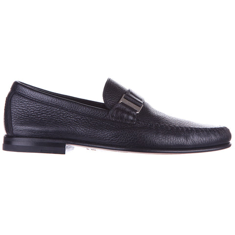 Bally Block Heel Loafers