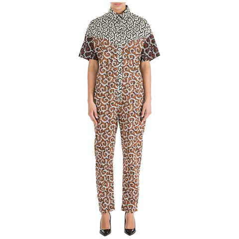Isabel Marant Mixed Print Jumpsuit