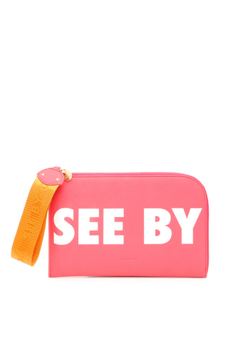 See By Chloé Lettered Clutch Bag