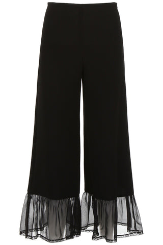 See By Chloé Ruffled Hem Pants