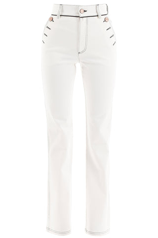 See By Chloé High Waisted Flared Jeans