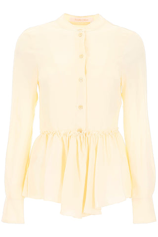 See By Chloé Basque Peplum Shirt