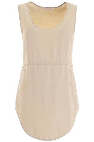 See By Chloé Wide Neckline Tank Top