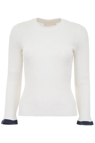 See By Chloé Cut-Out Details Knit Sweater