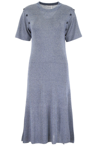 See By Chloé Short Sleeved Round Neck Knitted Dress