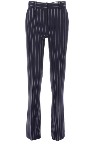 See By Chloé Pinstripe Straight Trousers
