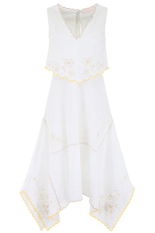 See By Chloé Embroidered Handkercheif Dress