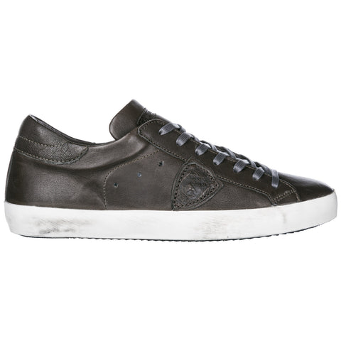 Philippe Model Logo Lace-Up Sneakers