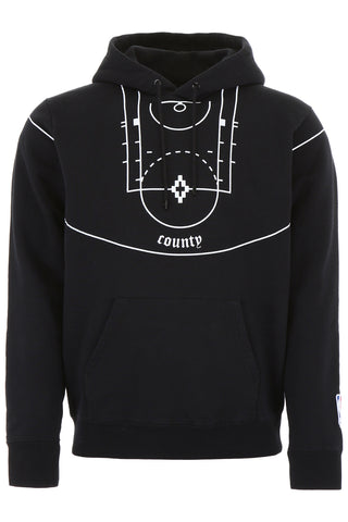 Marcelo Burlon County Of Milan NBA Court Hoodie