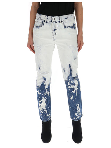 Gucci Hand Bleached Relaxed Fit Jeans