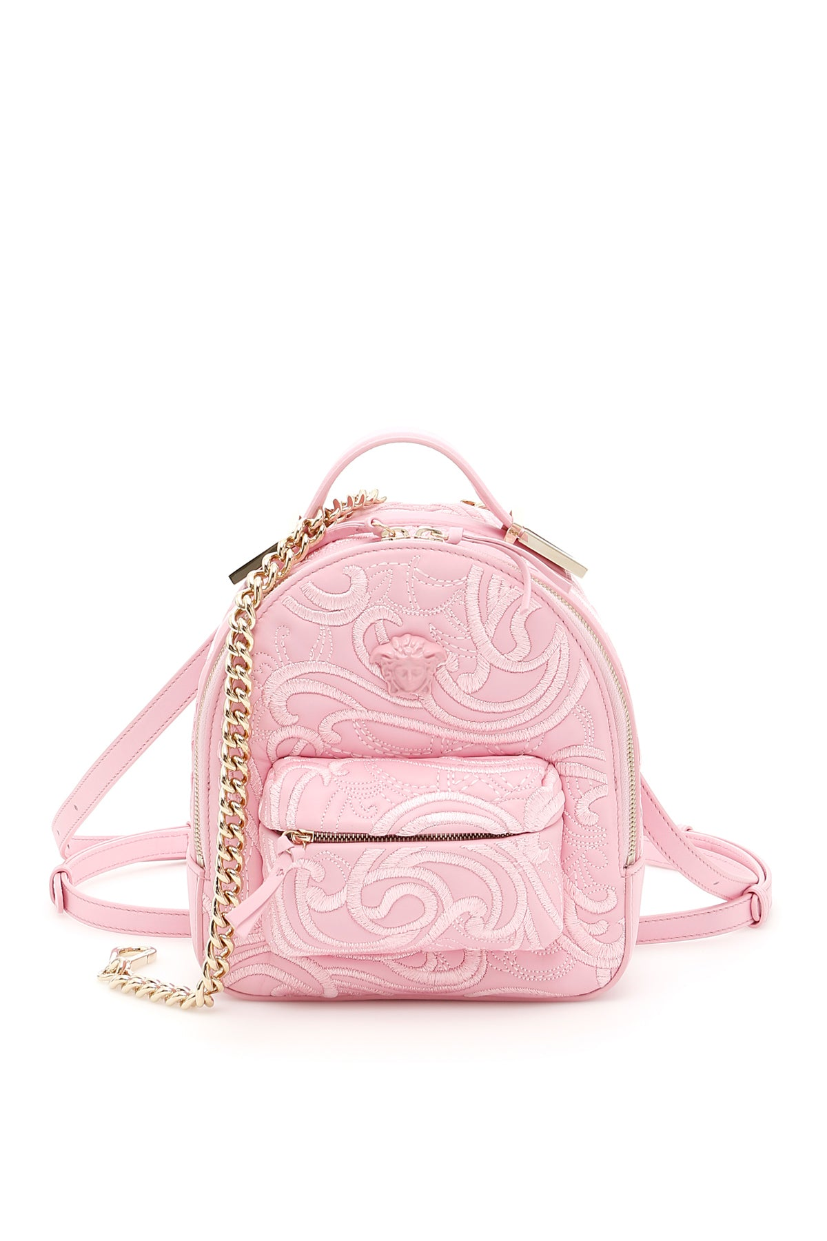 VERSACE PALAZZO EMBROIDERED BACKPACK