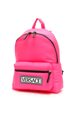 Versace 90s Vintage Logo Patch Backpack
