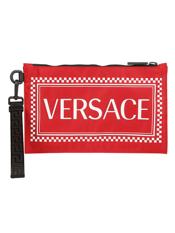 Versace Logo Clutch Bag