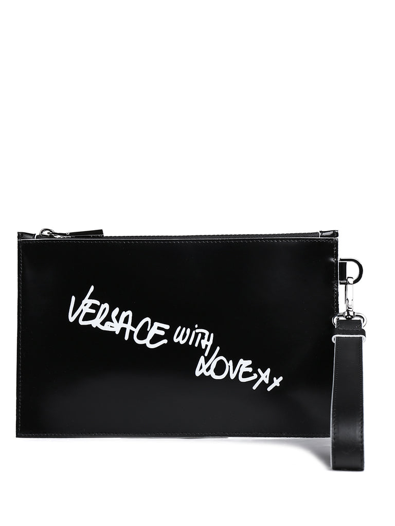 Versace With Love Clutch Bag