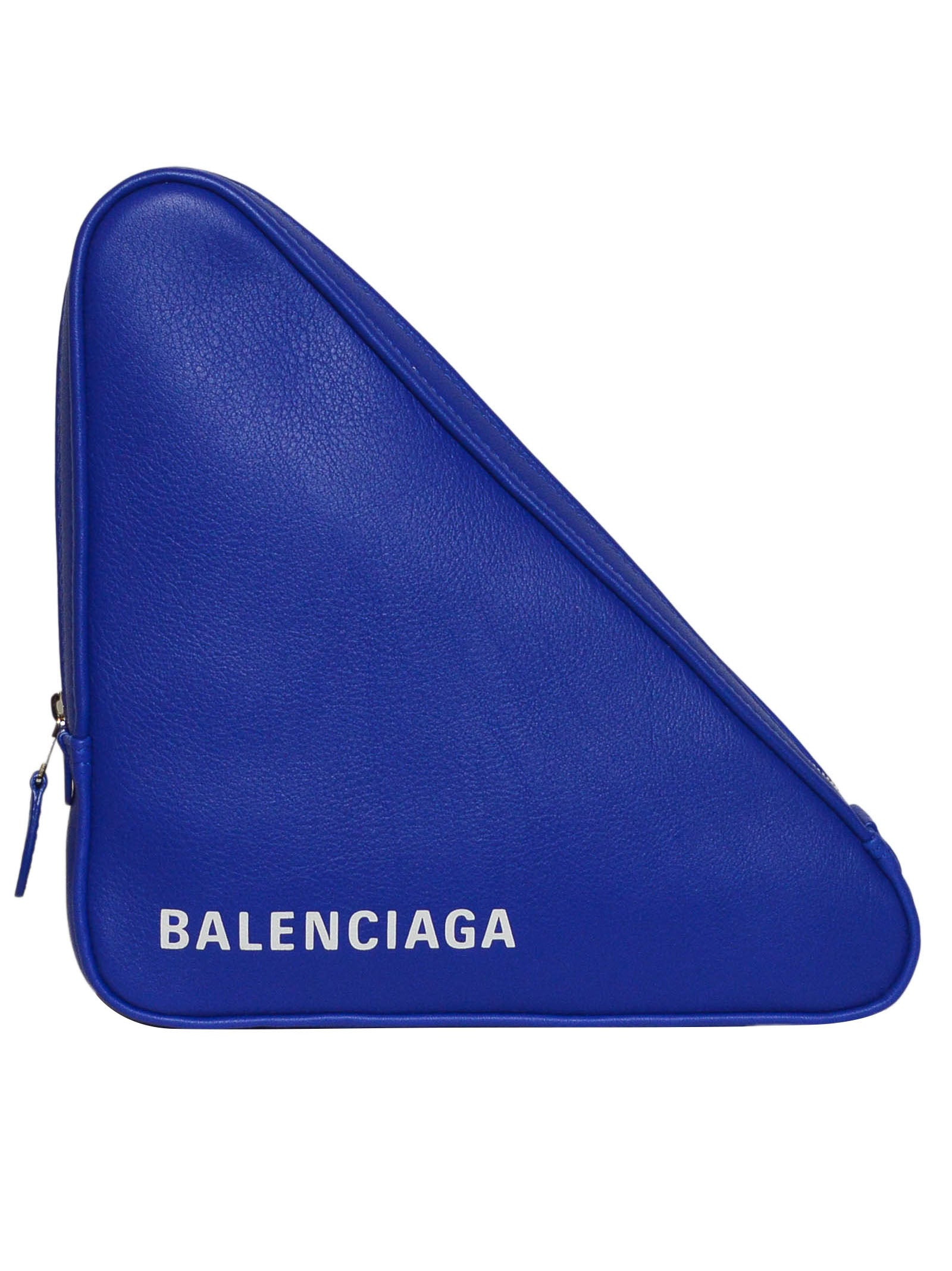 BALENCIAGA TRI TRIANGLE CLUTCH BAG