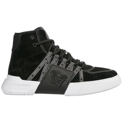 Versace Medusa Hi-Top Sneakers