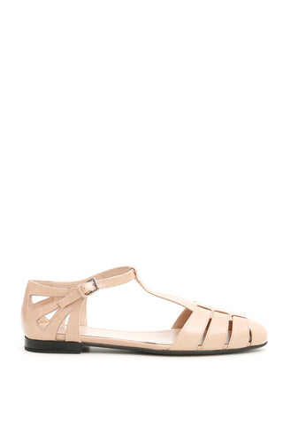 Church's Rainbow T-Bar Sandals