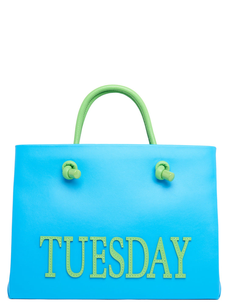 Alberta Ferretti ALBERTA FERRETTI SMALL RAINBOW WEEK TUESDAY TOTE
