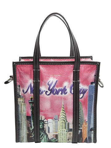Balenciaga Bazar New York Shopping Tote