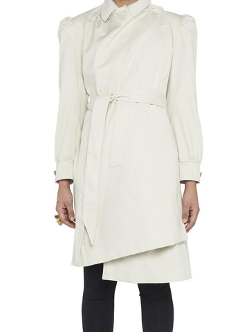 Balenciaga Asymmetric Trench Coat