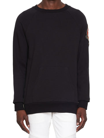 Balmain Embroidered Patch Pocket Sweater
