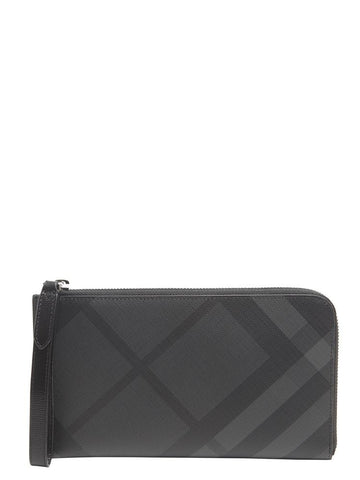 Burberry London Check Travel Wallet