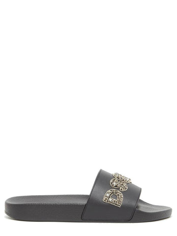 Dsquared2 Logo Embellished Slides