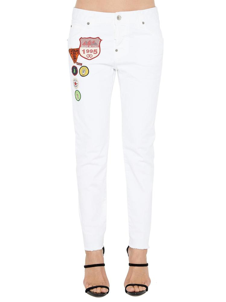 DSQUARED2 PATCH COOL GIRL JEANS