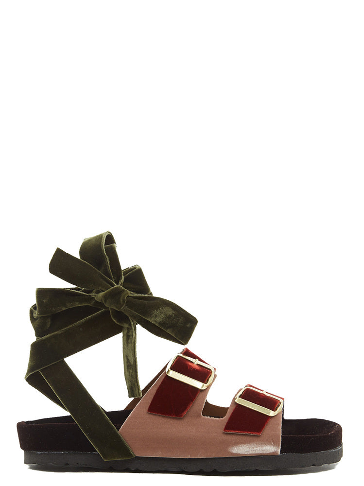 GIA COUTURE BERGEN SANDALS