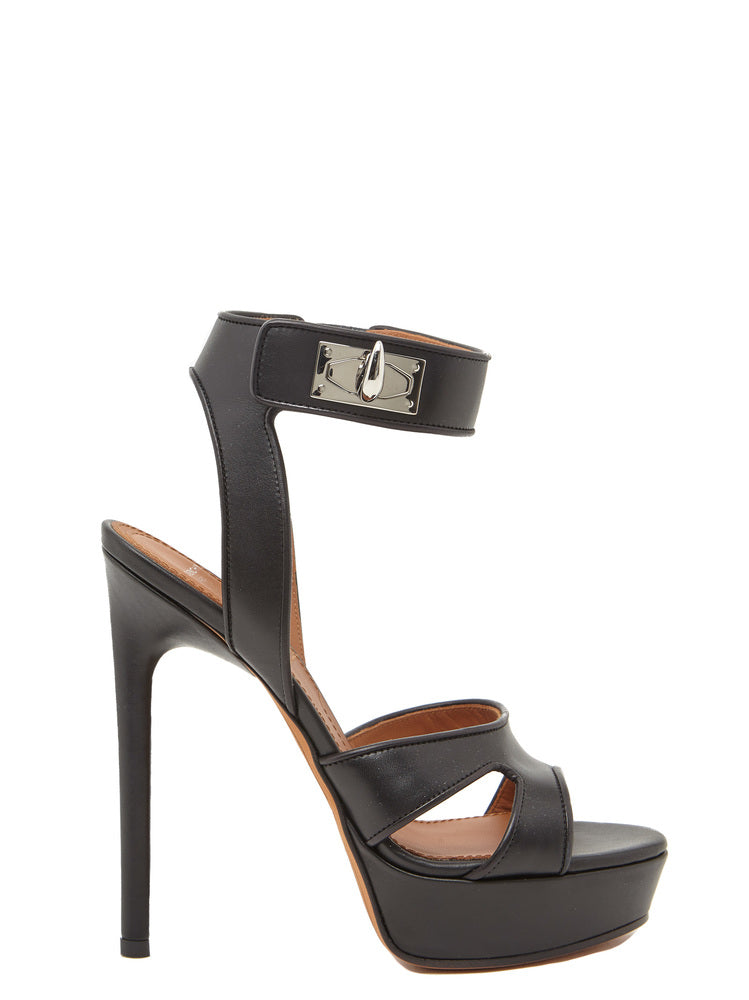 GIVENCHY SHARK LOCK SANDALS