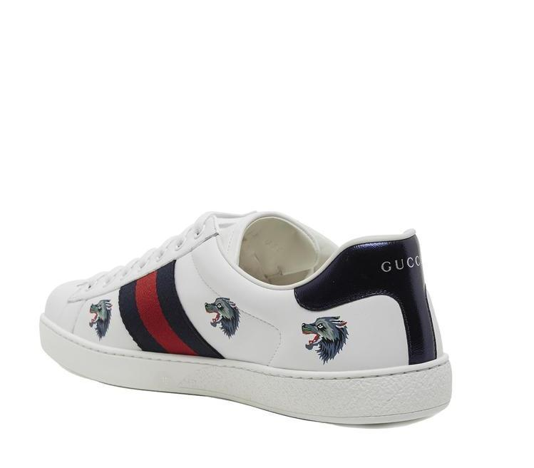 9db9d79d974 Gucci Ace Wolf Print Sneakers – Cettire