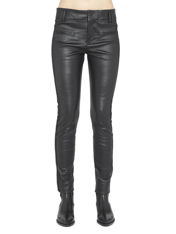 Haider Ackermann Fitted Leather Pants