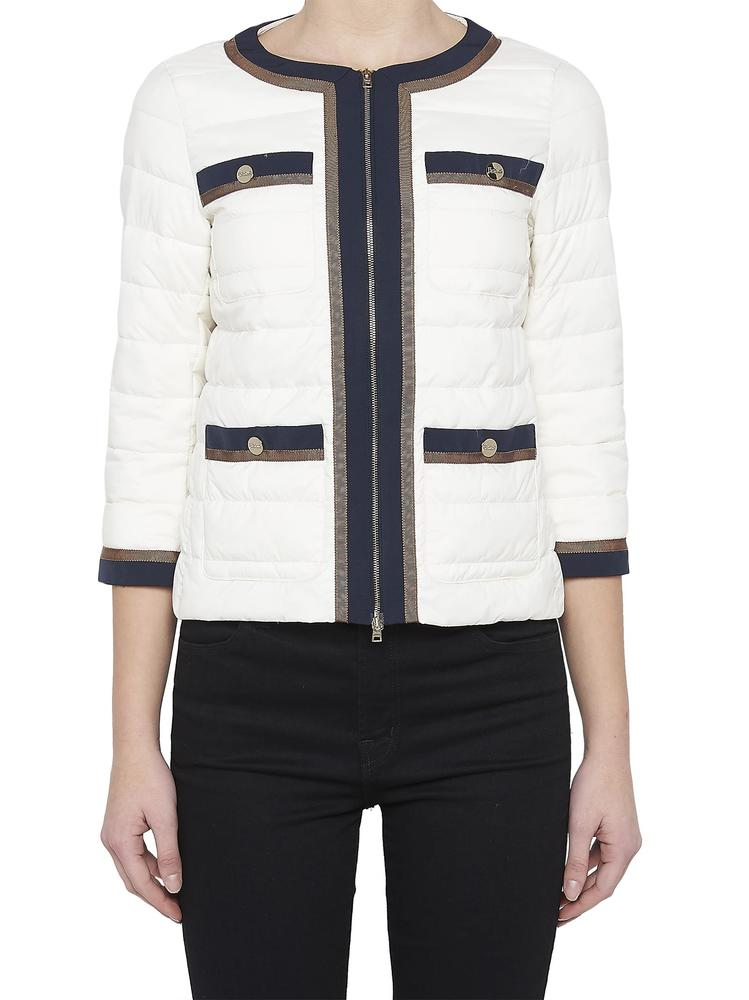 HERNO QUILTED GROS GRAIN JACKET