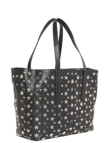 Jimmy Choo Sofia Star Studded Tote Bag