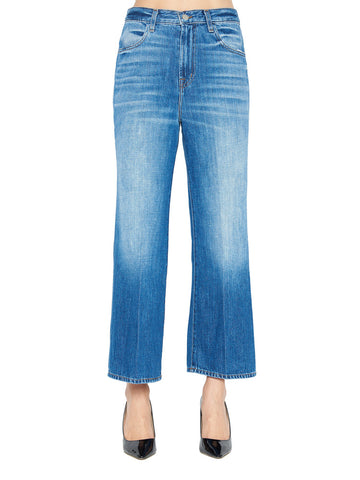 J Brand Joan Cropped Flare Jeans