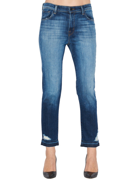 a15421efae5a J Brand Ruby High Rise Cropped Jeans – Cettire