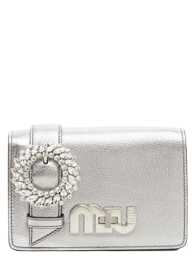 MIU MIU LADY CRYSTAL SHOULDER BAG