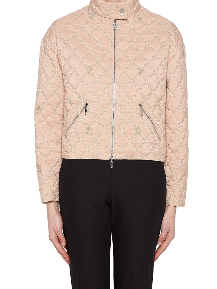 MONCLER GAMME ROUGE QUILTED JACKET