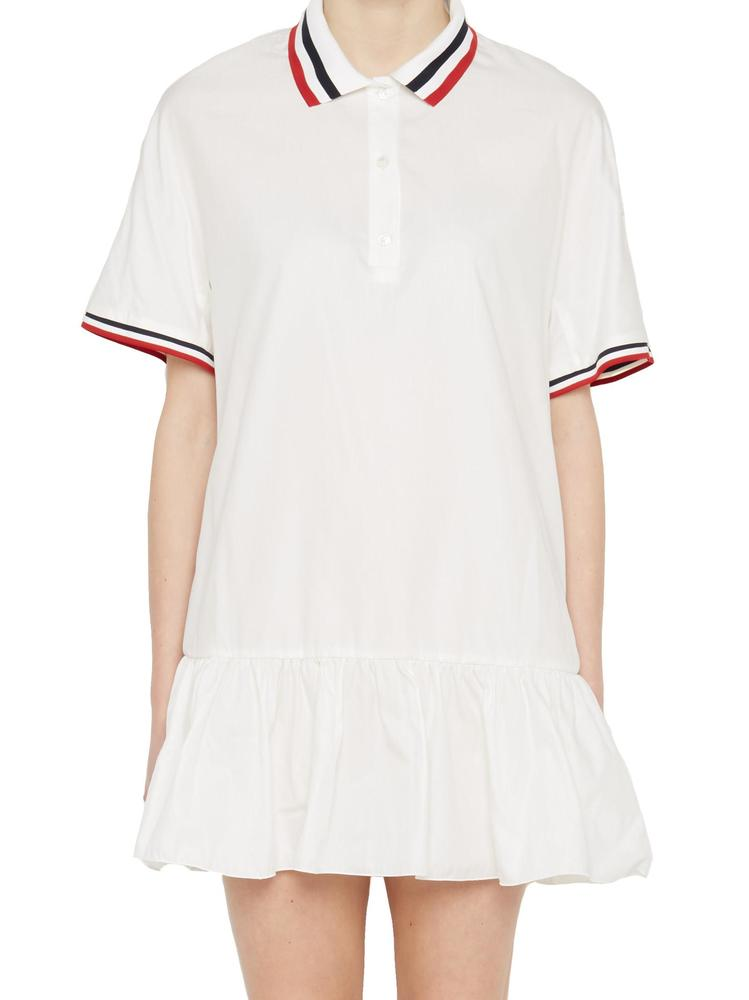 MONCLER GAMME ROUGE POLO SHIRT DRESS