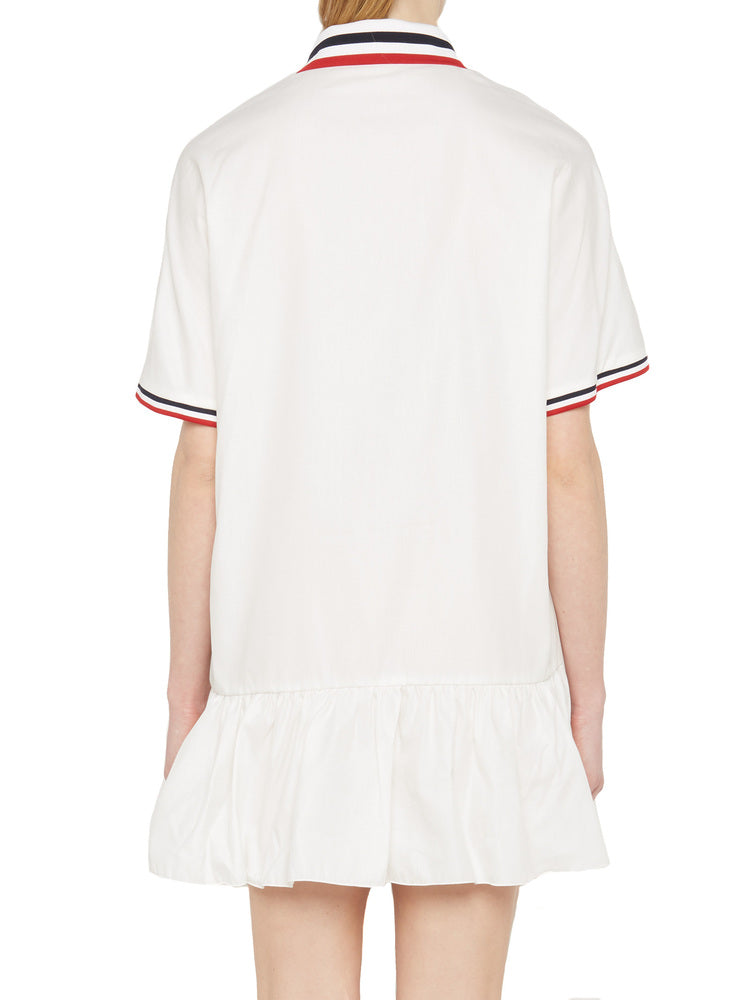 aa091b3639ee Moncler Gamme Rouge Polo Shirt Dress – Cettire