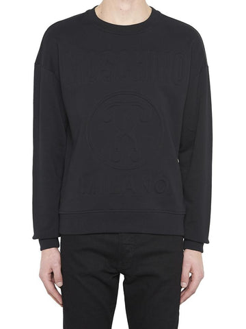 Moschino Logo Textured Sweater