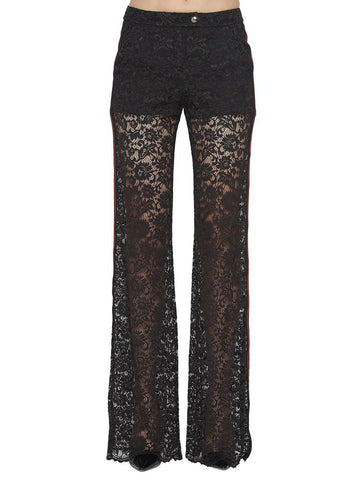 Philip Plein Flared Lace Pants