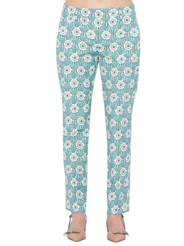 Prada Printed Tailored Trousers