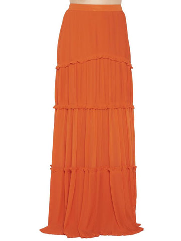 Tory Burch Stella Tiered Maxi Skirt