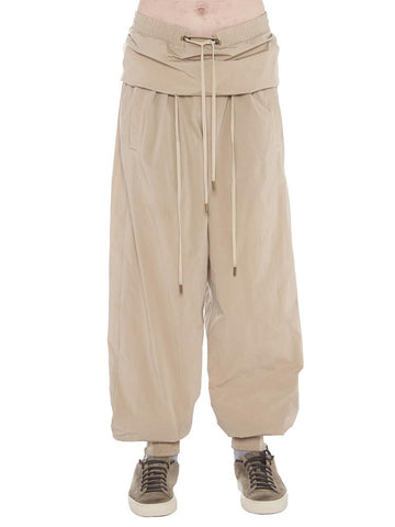 Y / Project Drawstring Folded Track Pants